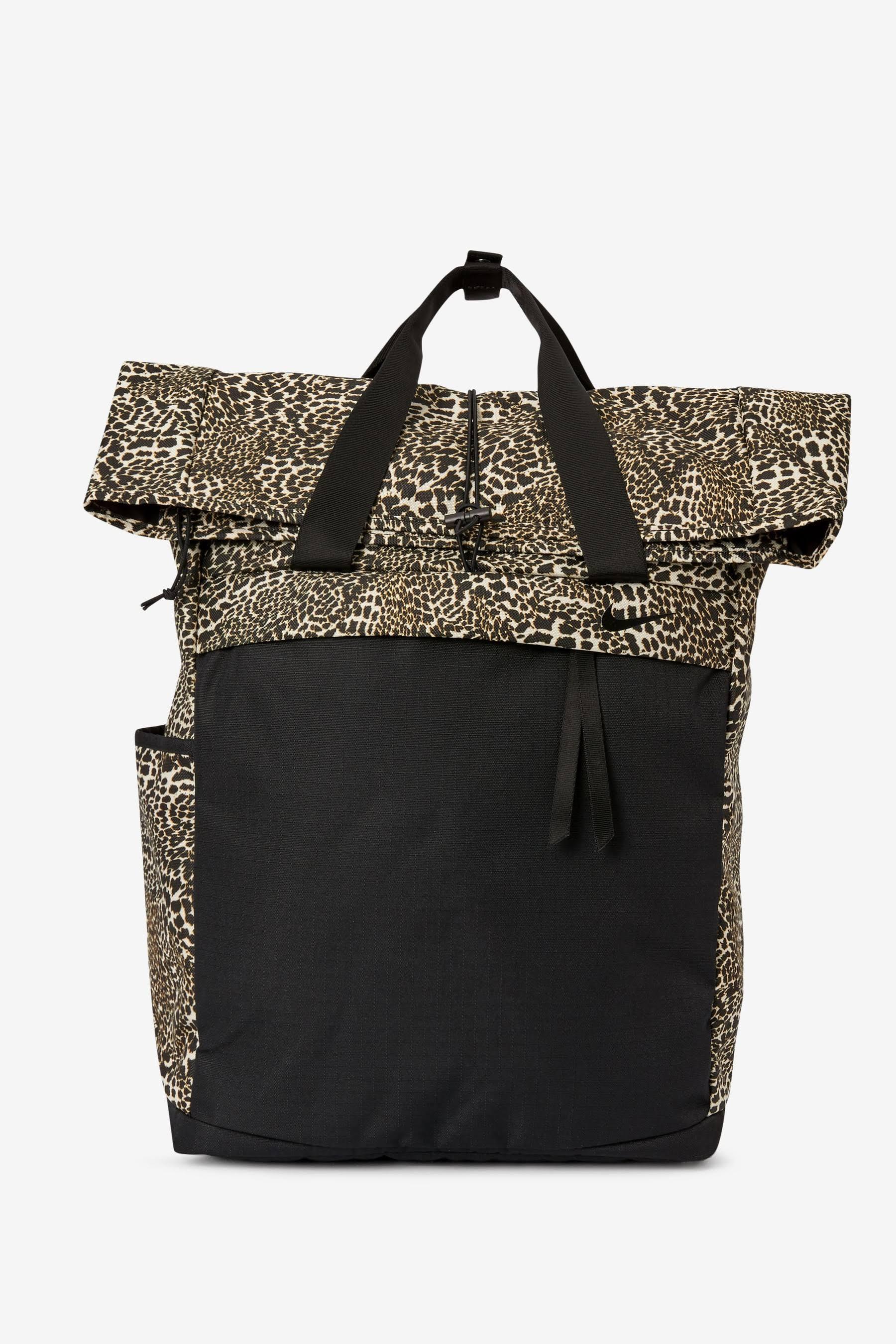 Nike Radiate Women's Leopard Training Backpack - Black