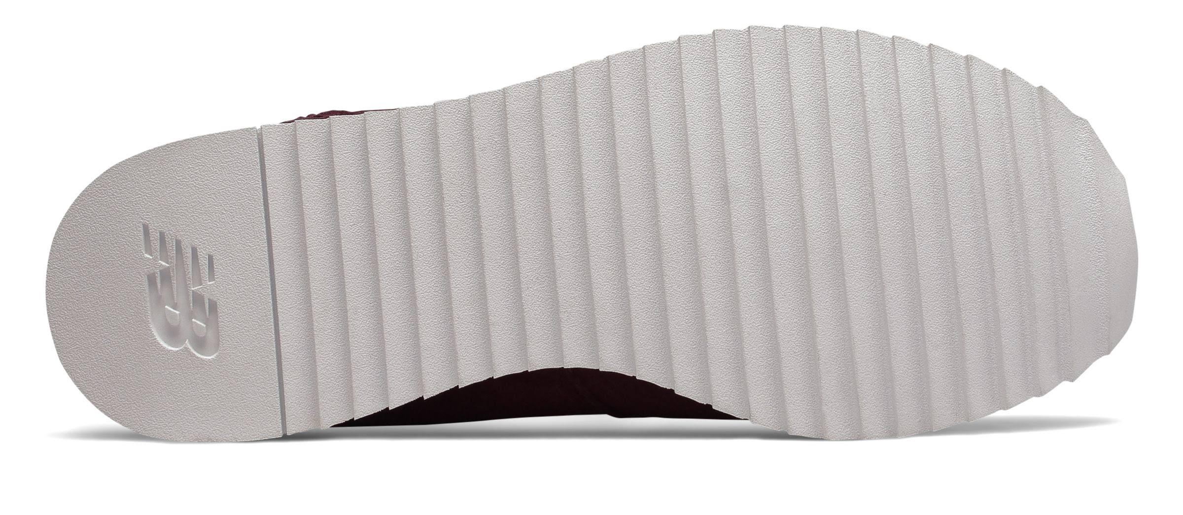 Casual 6 New Plateauschuh Balance weiß 520 Damen Burgundy rqq0IBx