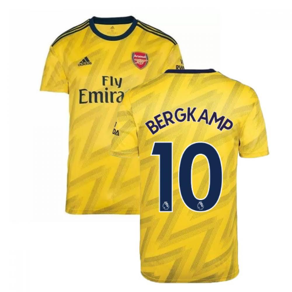 2019-2020 Arsenal Adidas Away Football Shirt (Kids) (BERGKAMP 10)