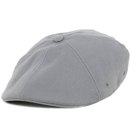 Kangol Flexfit 504 Gris Flat Cap Capflat xxnT7gO