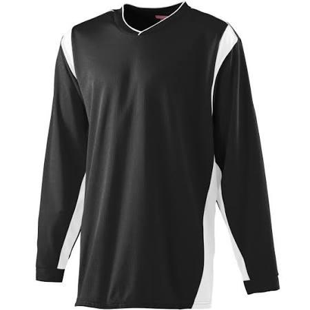 Camisa Manga Wicking Blanco xl Larga Blanco 4600 De Augusta Calentamiento Negro 4w4qnrUH