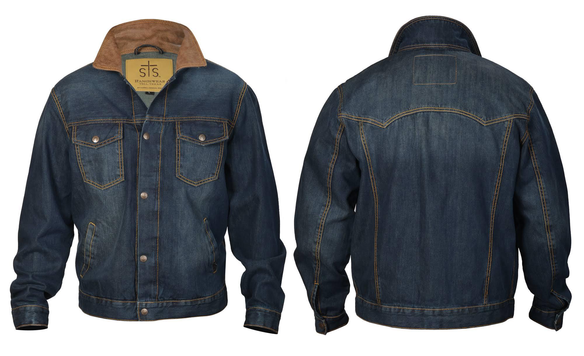 Jumper Denim Ranchwear Sts9765 Sts Herren Medium 4xl Westernjacke qp4w7t7xB