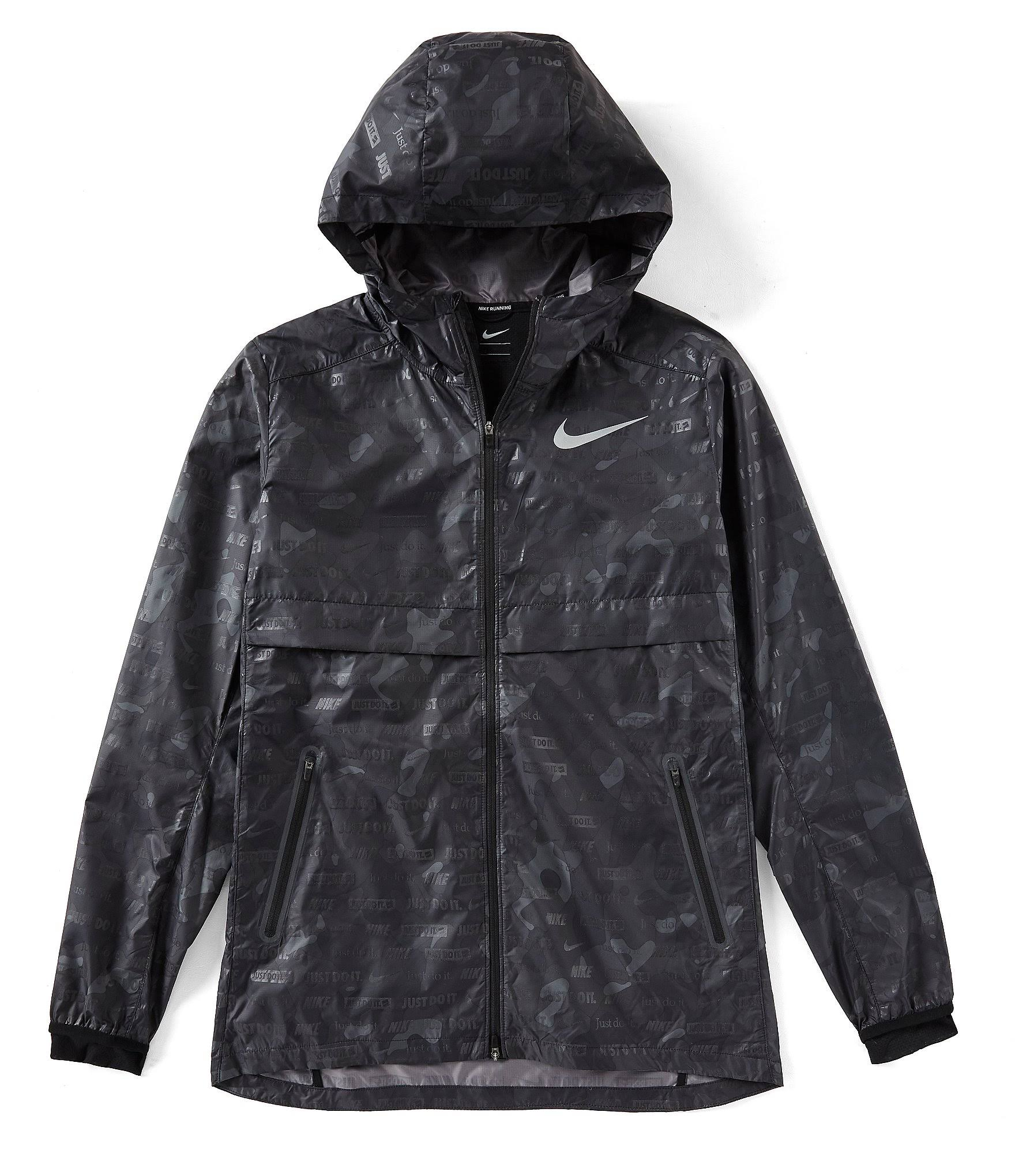 Negro Ghost Jacket Shield Reflectante Hombre Nike Camo Plata Xw6qwv