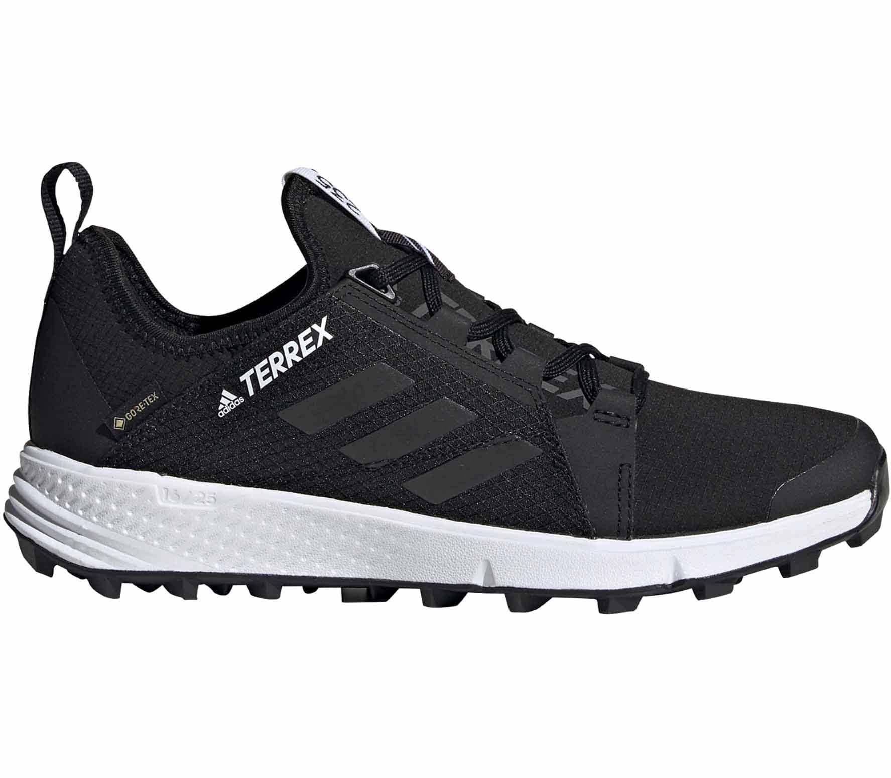 Adidas Terrex Speed Gore Tex Women's Trail Running Shoes - Black - 4