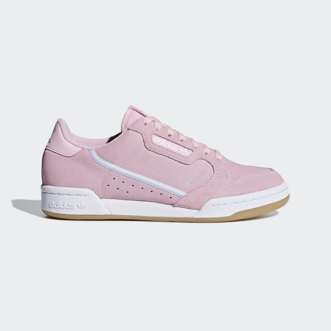 Adidas Continental 80 Shoes - Pink - Women - Sale