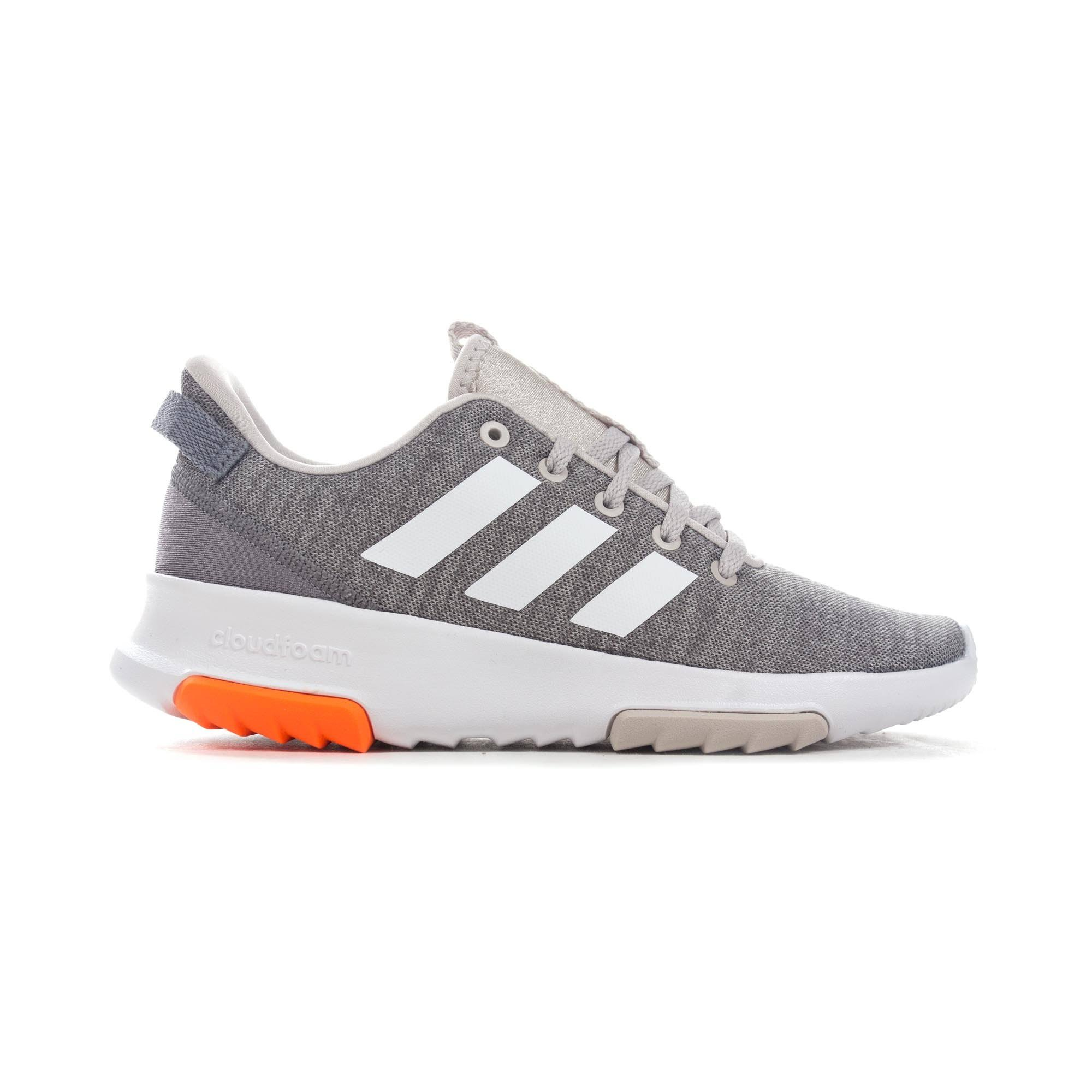 (4) Adidas Cloudfoam Racer TR K DB1863 Kids Grey sneakers