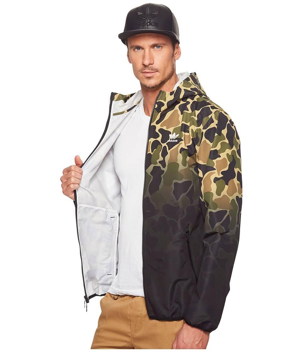 Adidas Tamaño Xl Para Multicolor De Cortavientos Hombre Verde Chaqueta Originals qf4aIc
