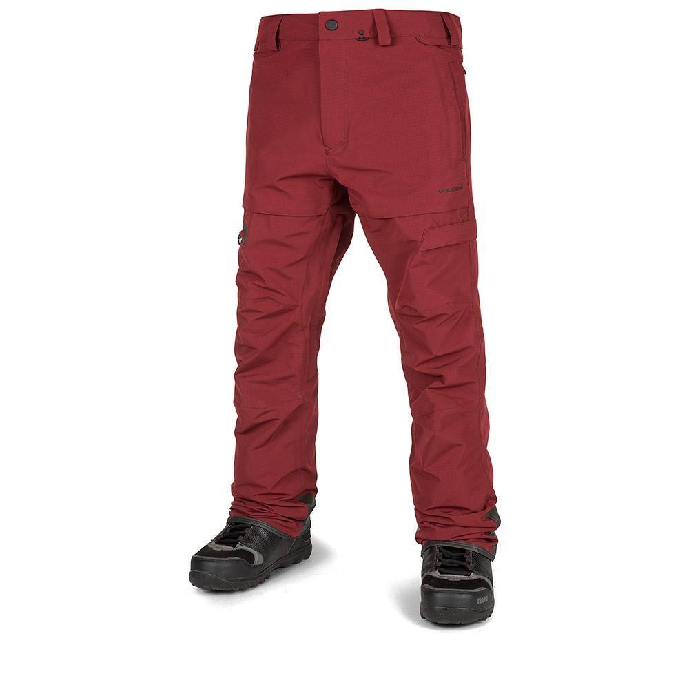 Volcom Red Gi Pant Burnt L Qrsthd