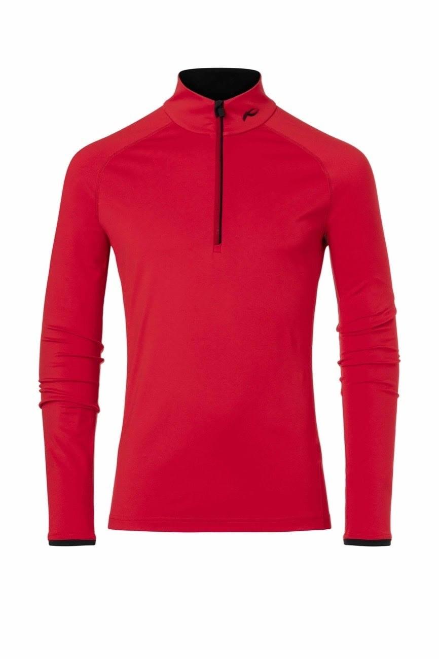 Kjus Scarlet Feel 48 58 Halfzip Hombre Camiseta rqZw1aSUrx
