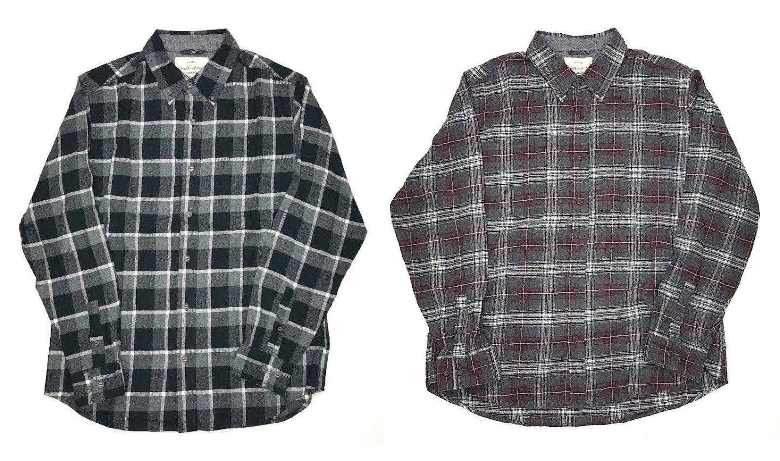 Vintage Größen Farben 966330 Verschiedene Herren Wetterfestes Flanellhemd Für HdqwTzR