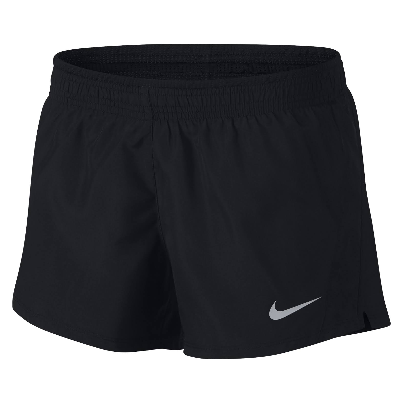 Nike Womens 10K Running Short Black Black Black Wolf Grey