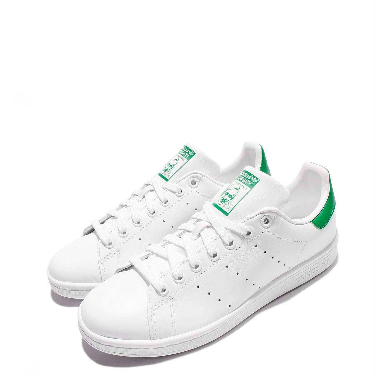 Stan Cloudwhite Smith Y Verde Blanco Hombre Green Corewhite Zapatos Originals Casuales Adidas RpwqXgFX