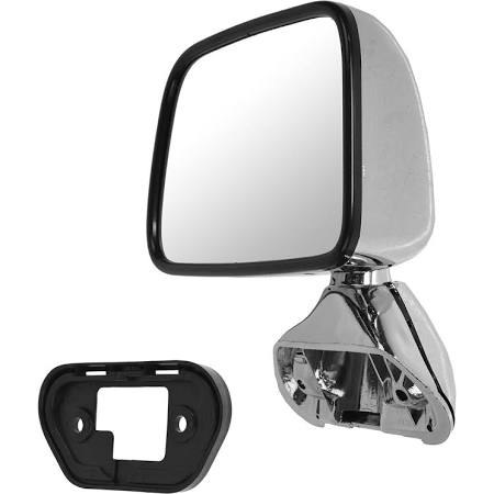Aftermarket chrome mirror