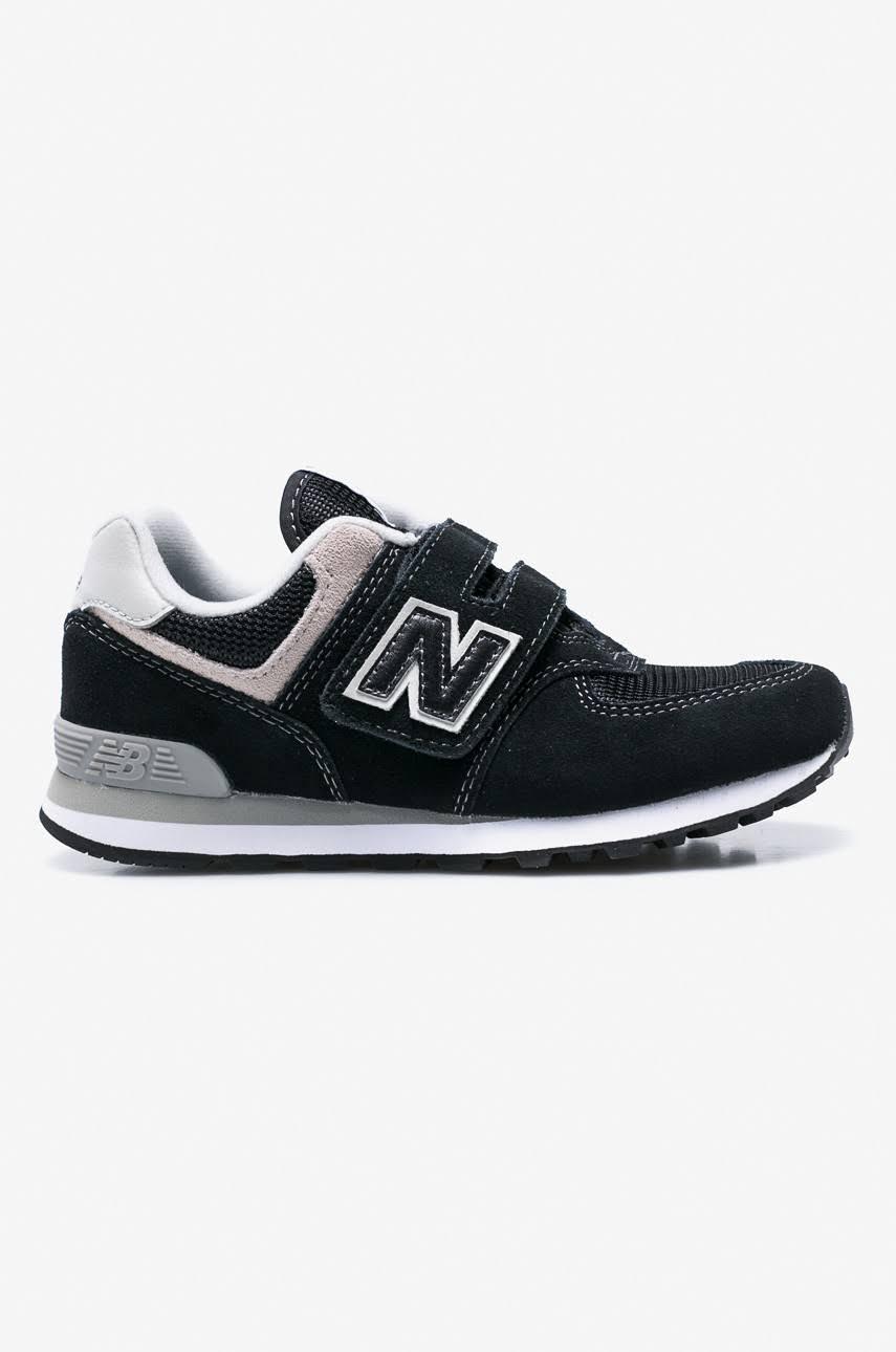 New Czarny Sneakersy Dziecięce Balance Yv574gk 5w74qO