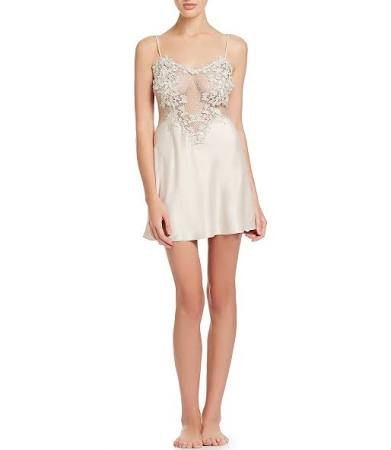 M Womens Showstopper Chemise Champagne Charmeuse Nikrooz Flora UTqwZ