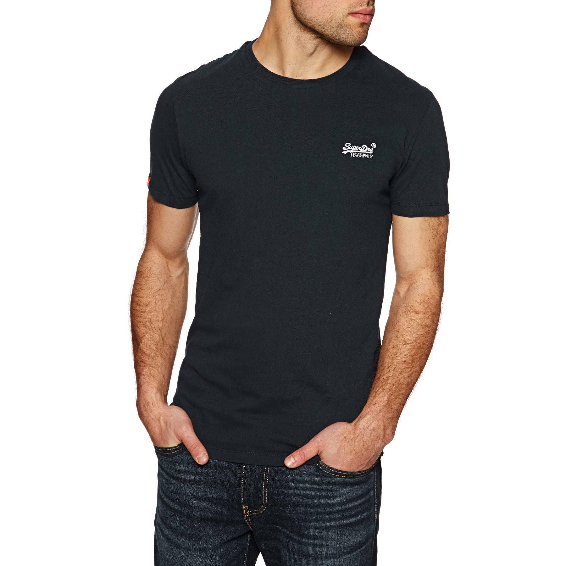 Superdry Redondo Vintage' De Camiseta Cuello Hombre Label Con Para 'orange aqaTxHn
