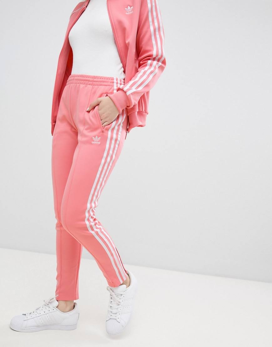 Superstar Woman Track Dh3179 Street Pink Fashion Adidas Vintage Stri Pants pTwCq1n1