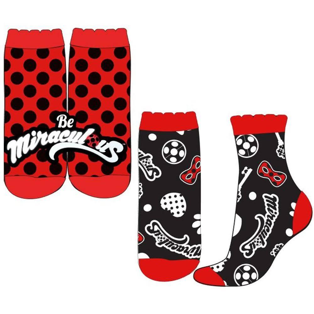 (9 - 12) Miraculous Ladybug Socks