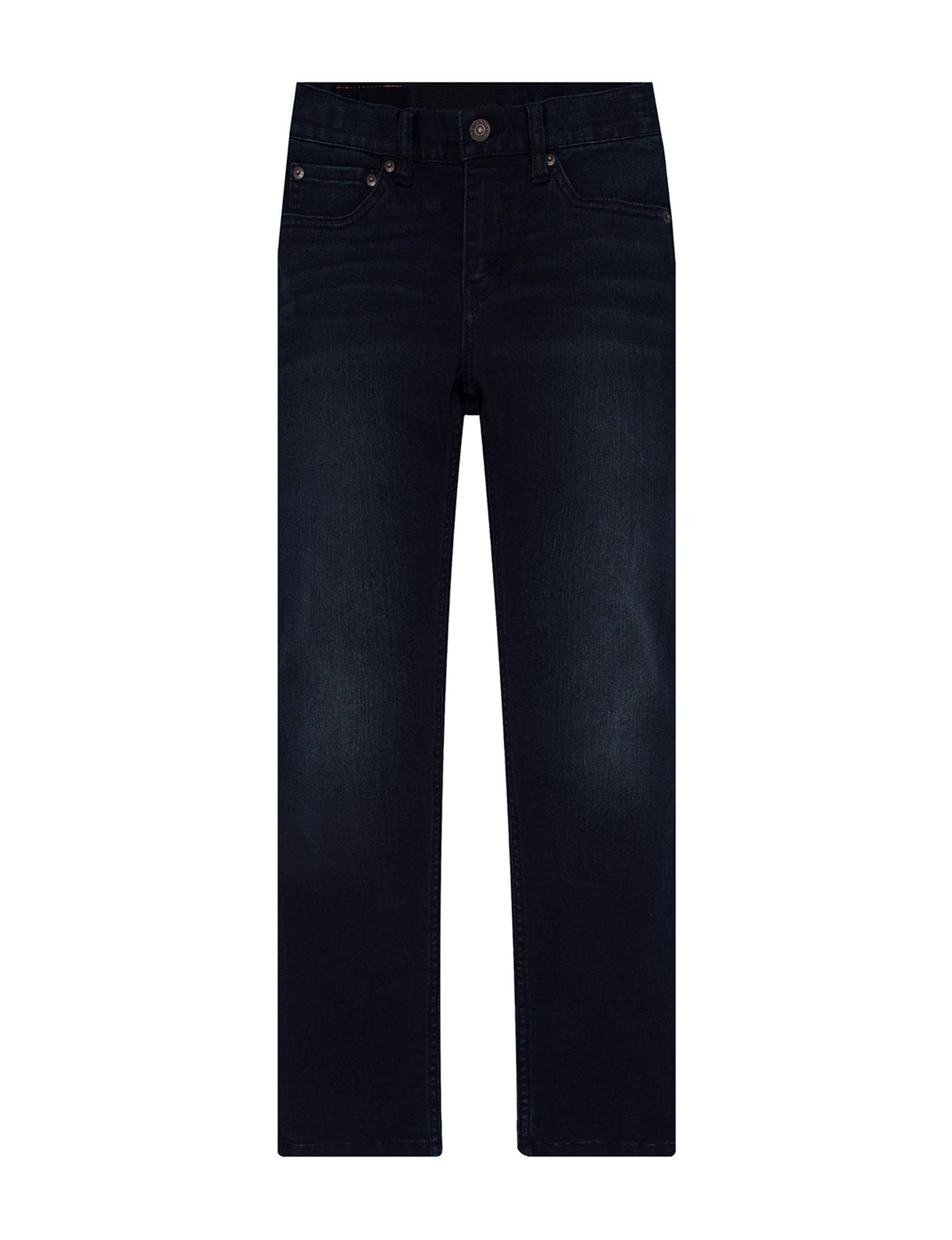 511 4 Levi's Von Slim Dunkelblau Jeans Boys xq6ZAw7x