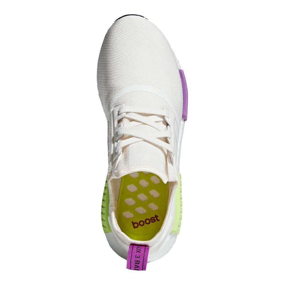 Nmd 12 Jaune Craie Hommes r1 Chaussures Adidas Blanc AvqwTT