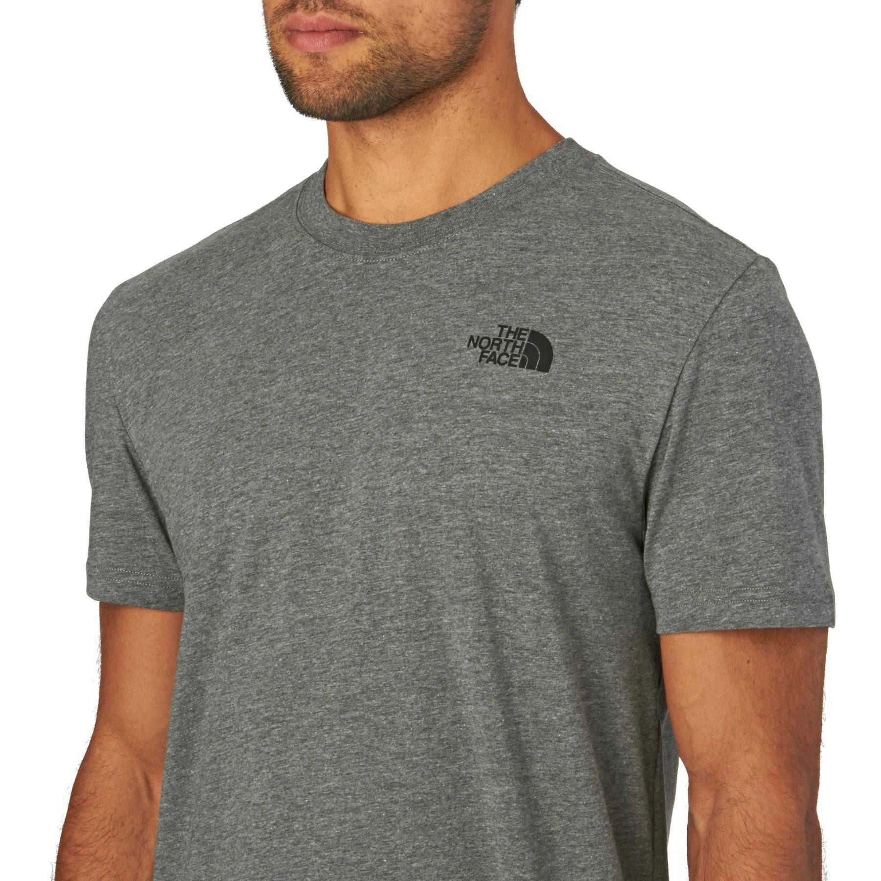 Face Das shirt Grau T Box Red North RRwrq5z