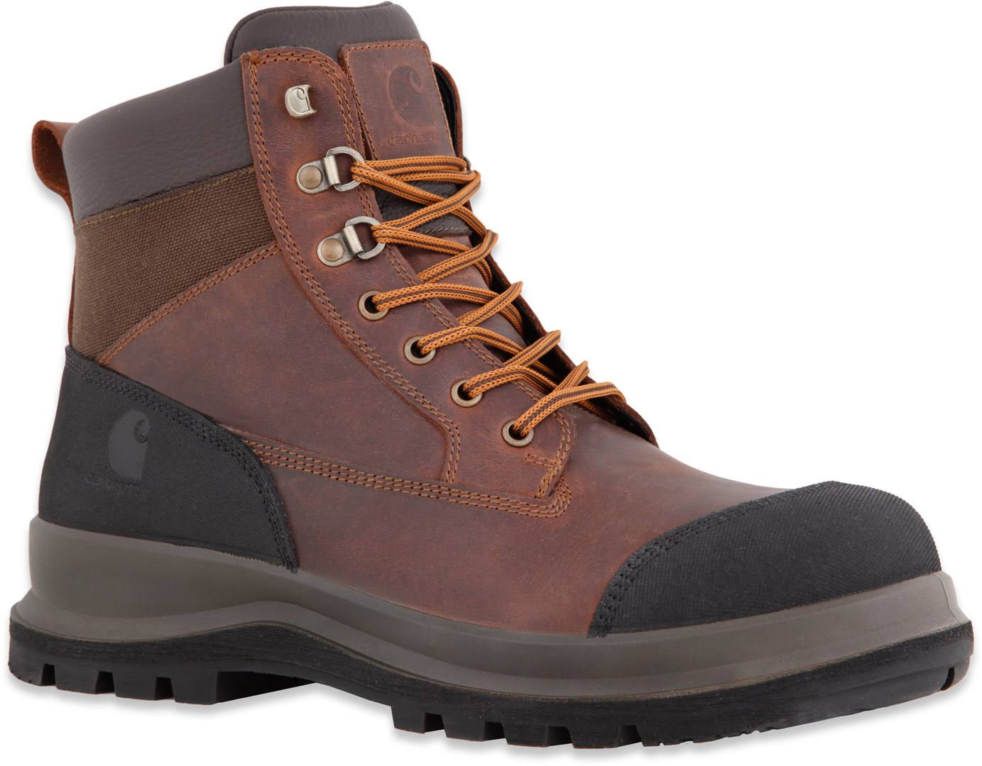 Carhartt Detroit 6in S3 Work Safety Boots - Dark Brown