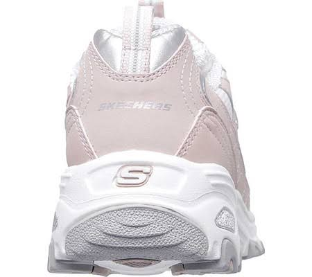 El Skechers Atléticas Fan D'lites Mayor Rosa 5 Mujer Zapatillas Con Para 0 xUUTq6YwB