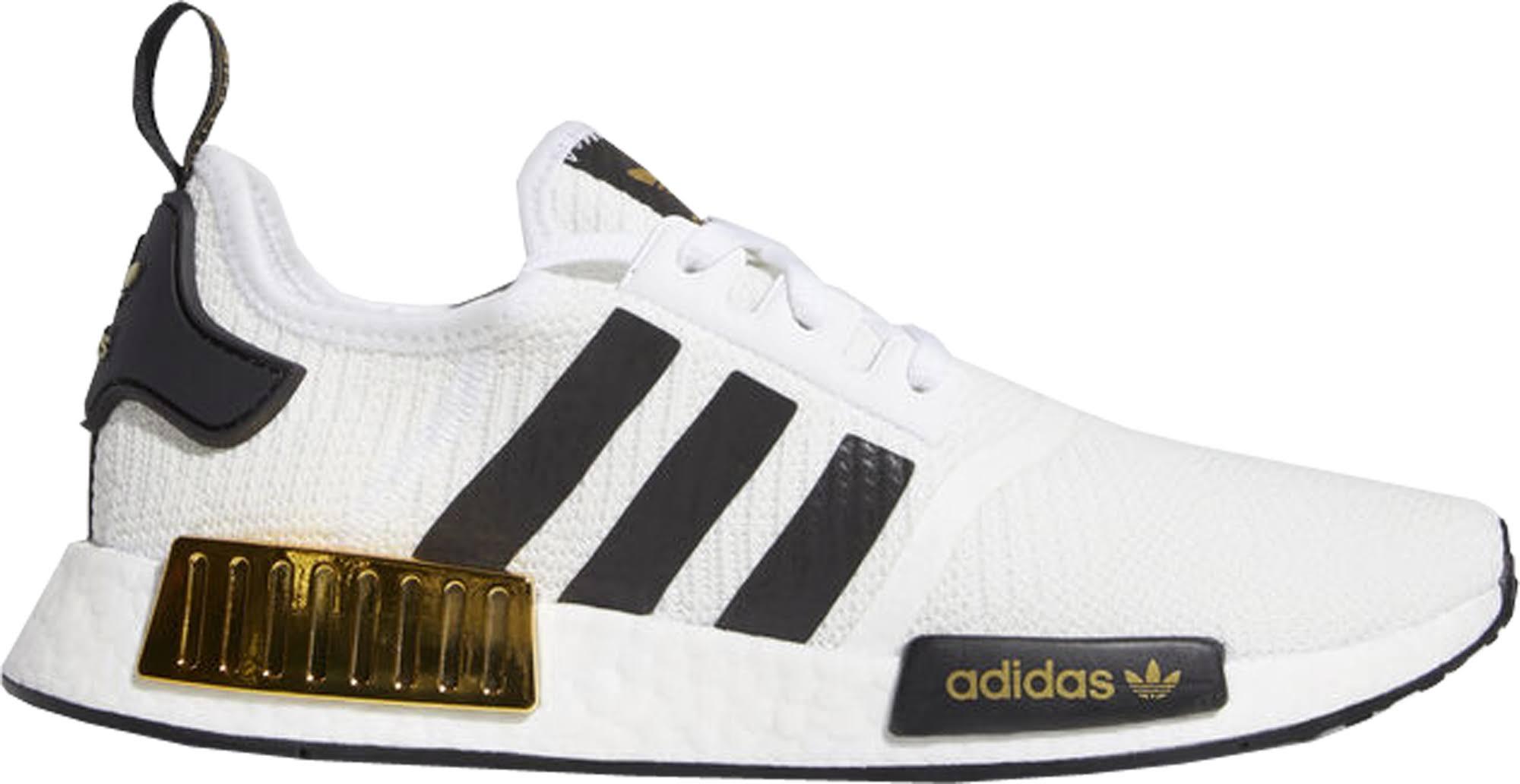 adidas NMD R1 White Black Gold