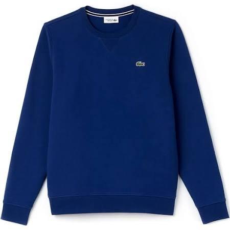 Lacoste Hals Heren Ronde Blauw Met Blauw 48 Sweatshirt Maat r7Wqtnrf