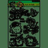 Penny Black 30-317 Deck The Halls Transparent Decorative Rubber Stamp Set