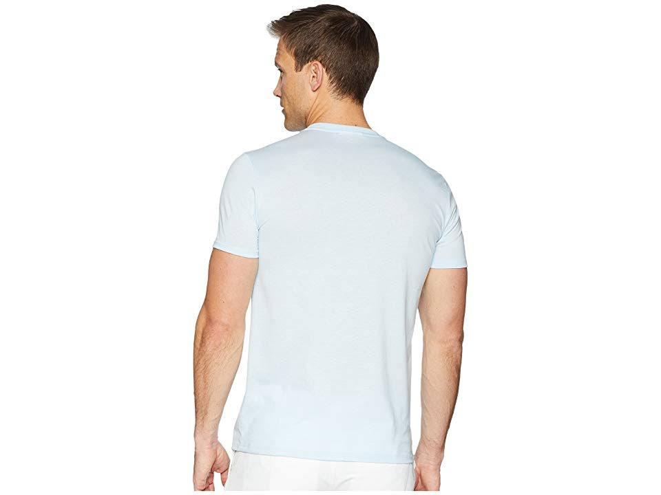 Mit Blau baumwolle shirt Herren Aus 3xl Pima T Lacoste Rundhalsausschnitt 4p6Yw4q