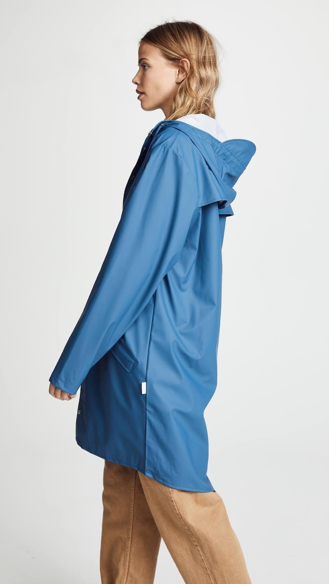 Chaqueta Faded Blue s Para Larga Xs Mujer Rains aqwa1HrT