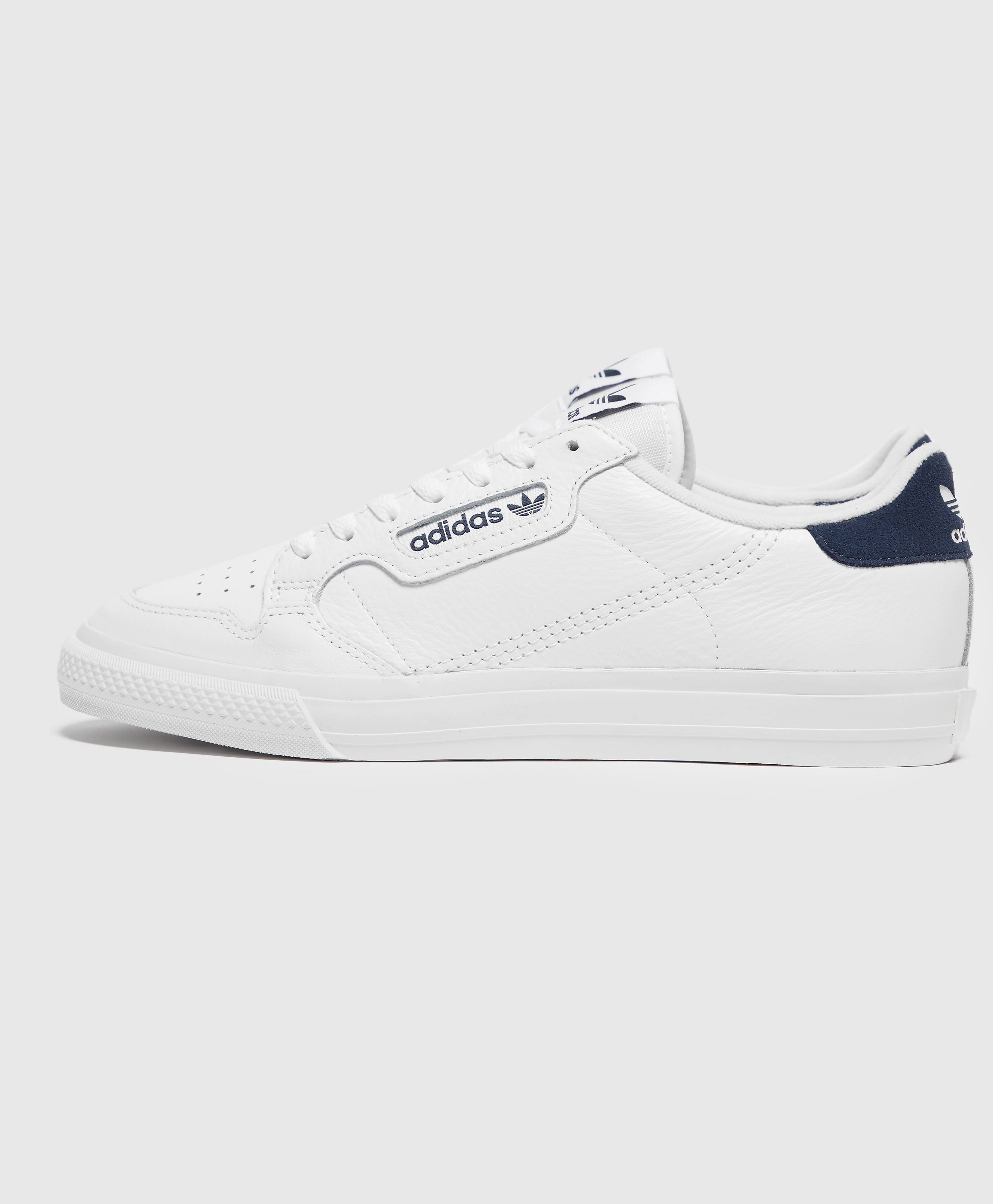 Adidas Continental Vulc Shoes - White