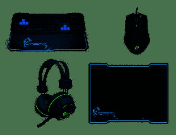 Dragon War 4 in 1 Pro Gaming Box Set