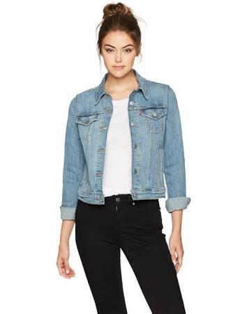 Trucker Mujer Levi's Para Jeanie Original Jacket Xl pnqgq5PrW