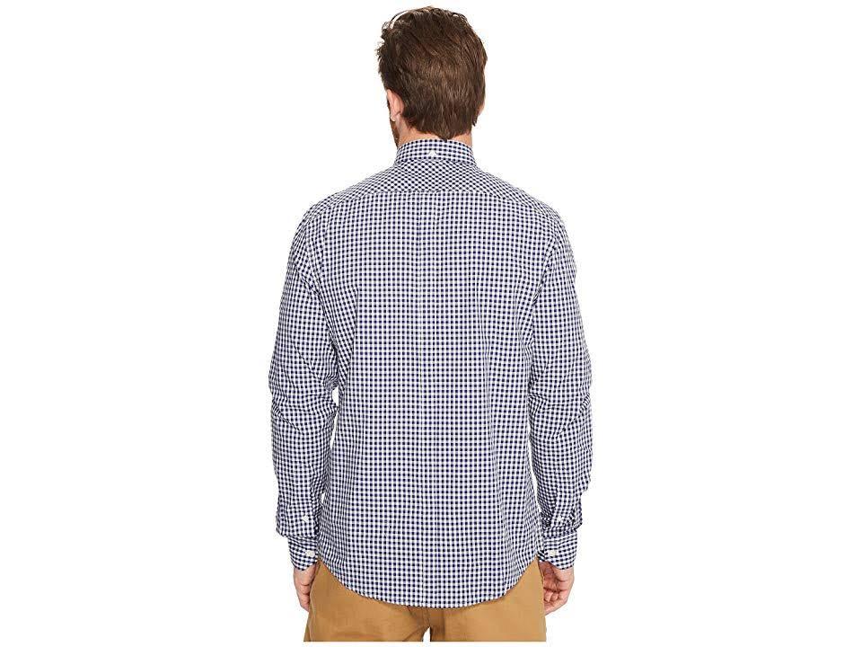 Cuadros A Ben Azul Algodón De Hombre Para Camisa Xxl Sherman wqH6txgE