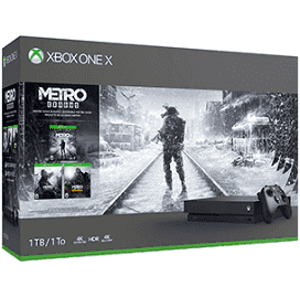 Metro Saga Xbox One X 1TB Bundle