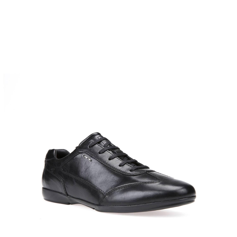 9 Man Models Scarpe Lace Leather 2018 Classic Geox Black up 0 U620ua v8Nn0mwO