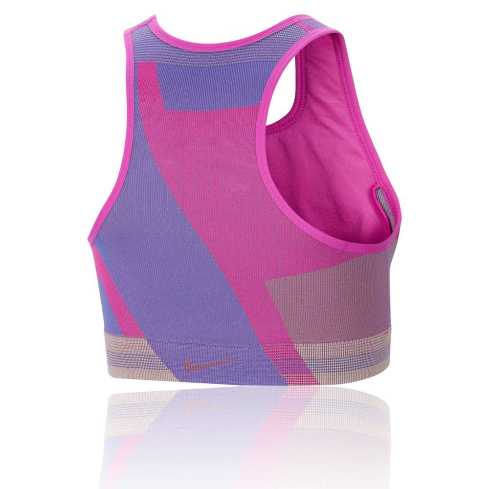 Nike Icon Clash Women's Seamless Light-Support Sports Bra - Pink