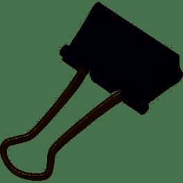 ダブルクリップ 文房具 事務用品 モノタロウ 1箱(12個)