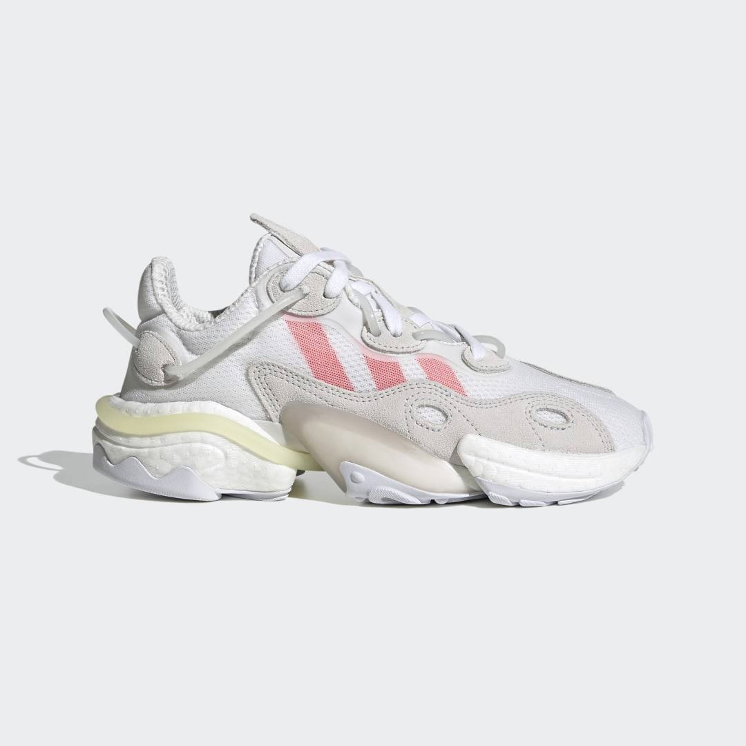 Women's Adidas Torsion x White Solid Red Crystal White