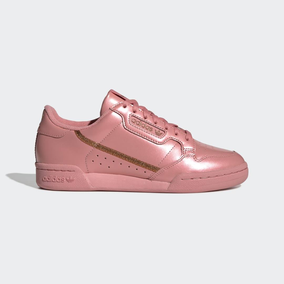 Adidas Continental 80 Shoes - Womens - Pink