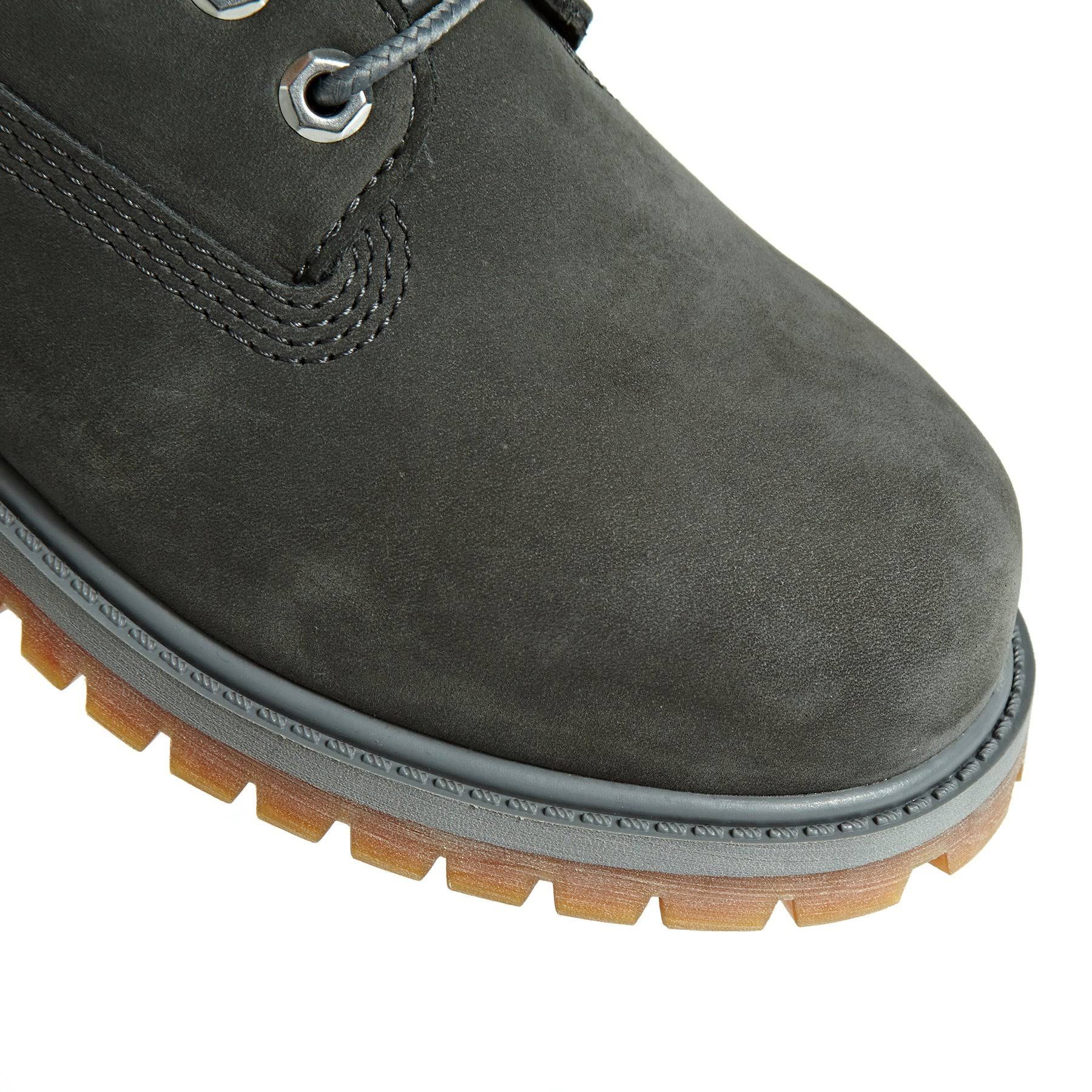 Grey Timberland Premium Toddlers Kids' Nubuck For Boots 6