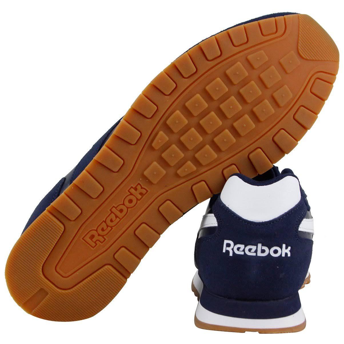 Zapatillas Hombre Para De Azul Harman Mediano Cl 5 Tamaño Run Cuero Reebok 10 qwOqCrR