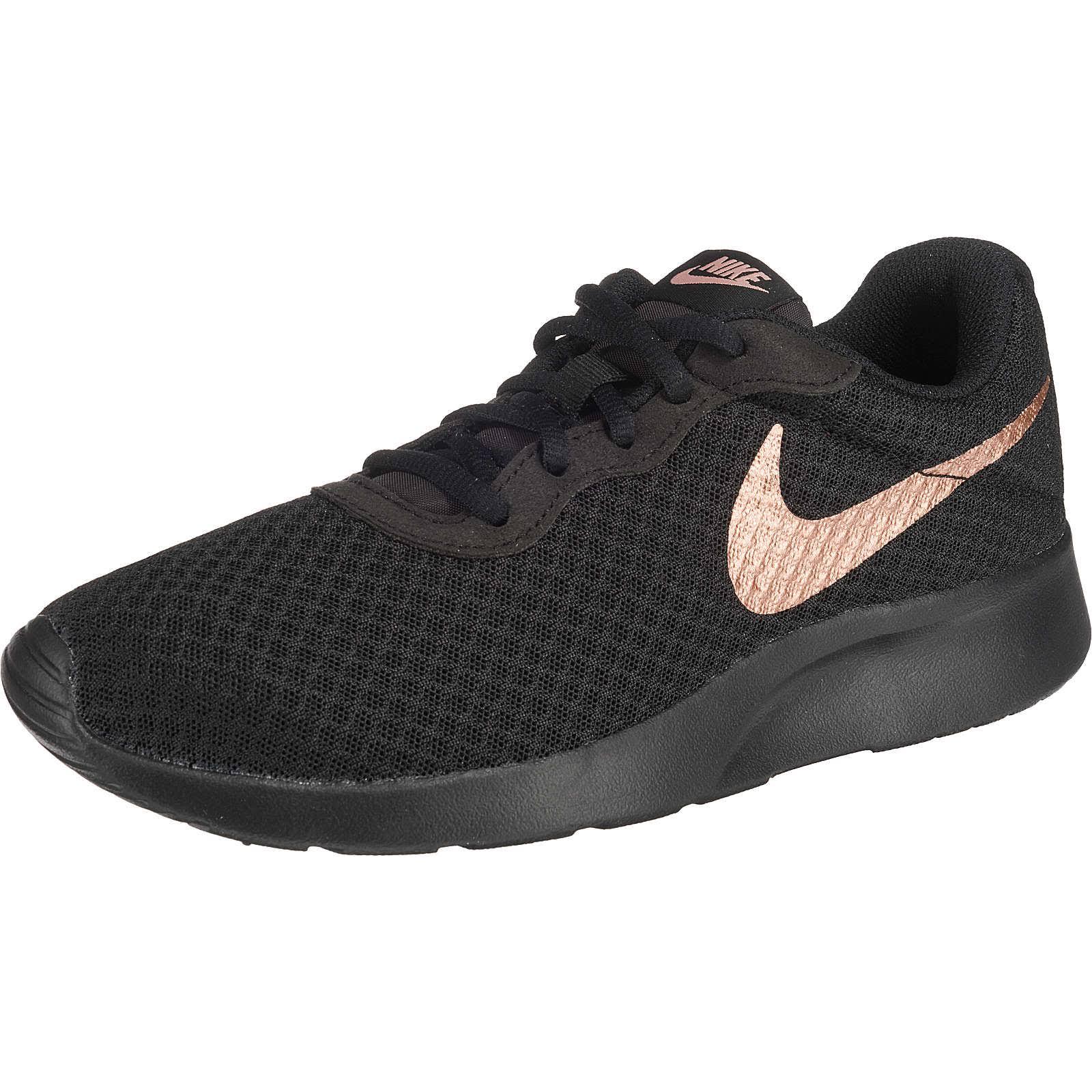 Women mtlc Black Schuh Schwarz Nike bronzefarben Bronze 812655 Red 38 Tanjun dWUwqHZ