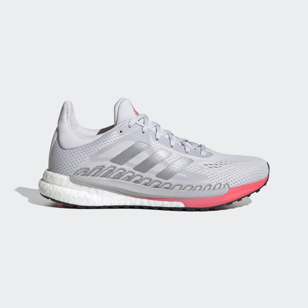 Adidas SolarGlide 3 Shoes Running - Womens - Grey