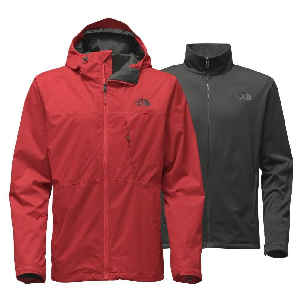 Rojo Hombre Face Chaqueta North Arrowood The Triclimate w5qXYU8