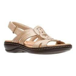 Dames zand Clarks bruin sandalen Leisa Vine 4Rq35jAL
