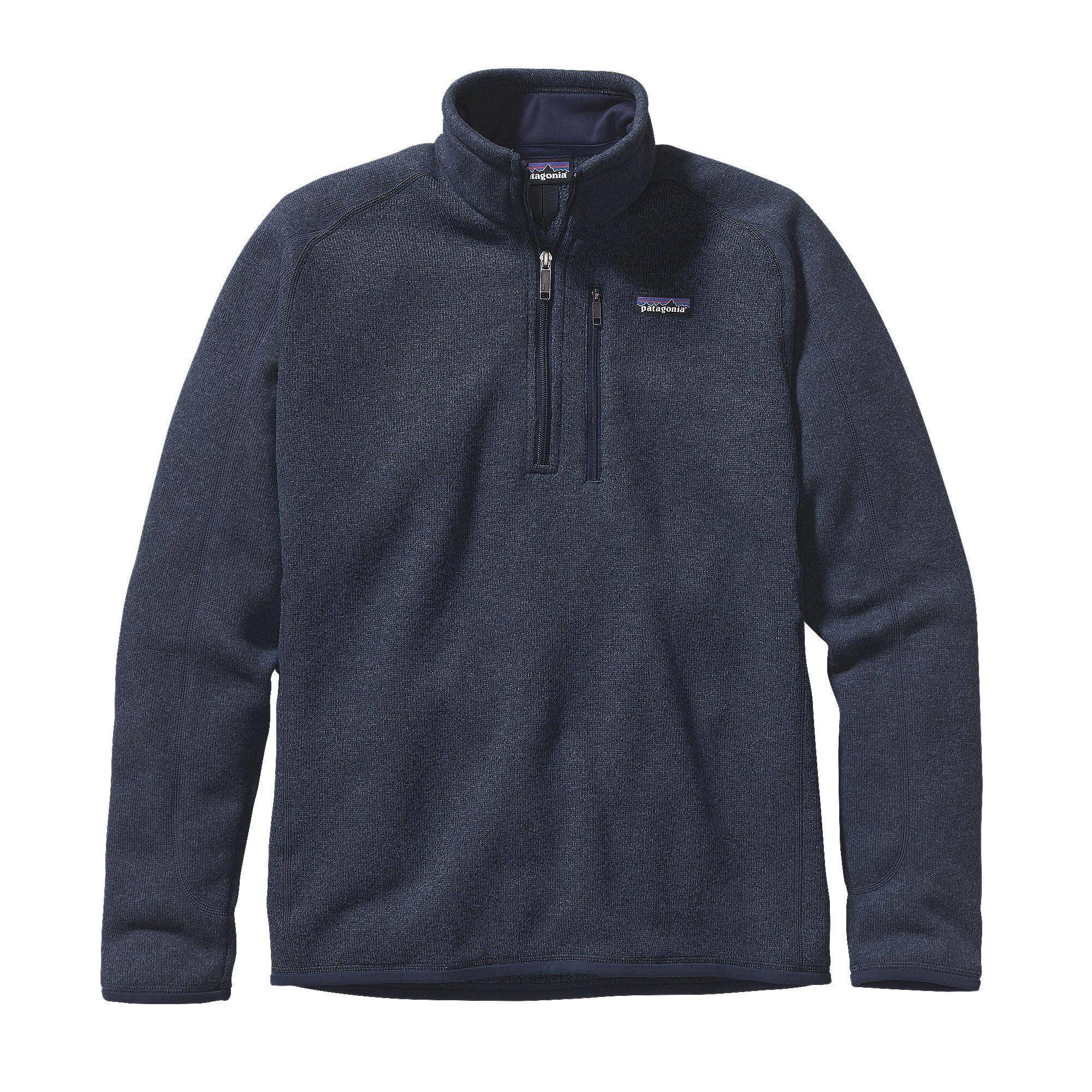 Suéter S Patagonia 1 4 Hombre Mejor Cremallera 25522 Con Para Azul rFxnrB