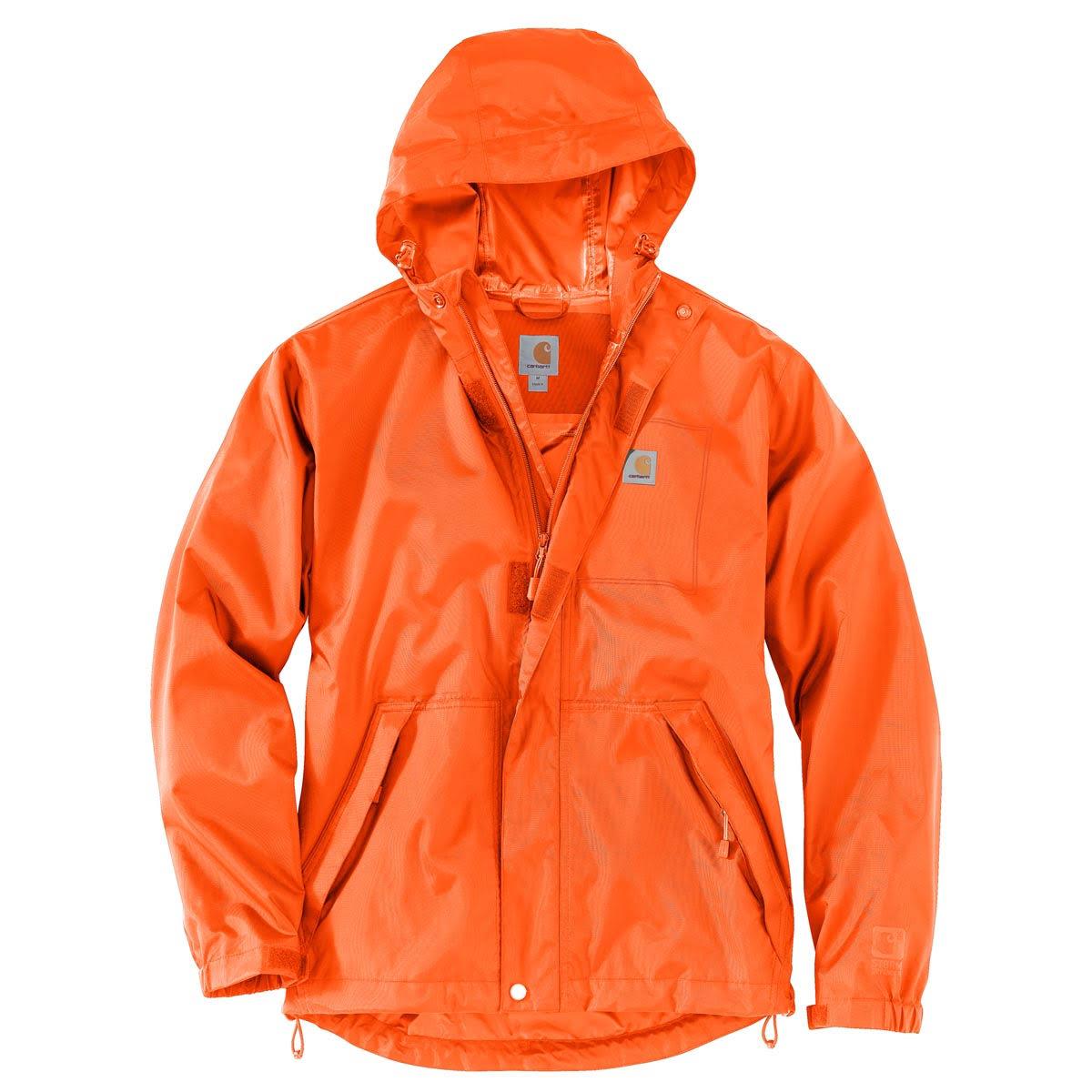 Regular Medium Carhartt Orange Jacket Harbor Mens Dry Bold 103510 cWnPcOg